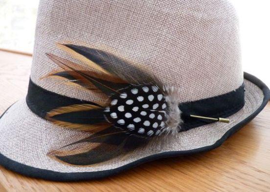 MOB 36 Plume chapeau
