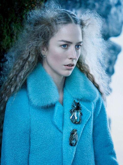 MOB 6 Manteau bleu