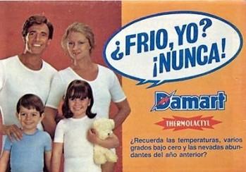 Damart Espagne Crédit photo Pinterest